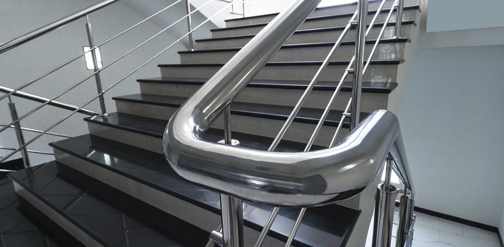 Barandas de acero inoxidable precio cheap perfect for Escalera exterior de acero galvanizado precio